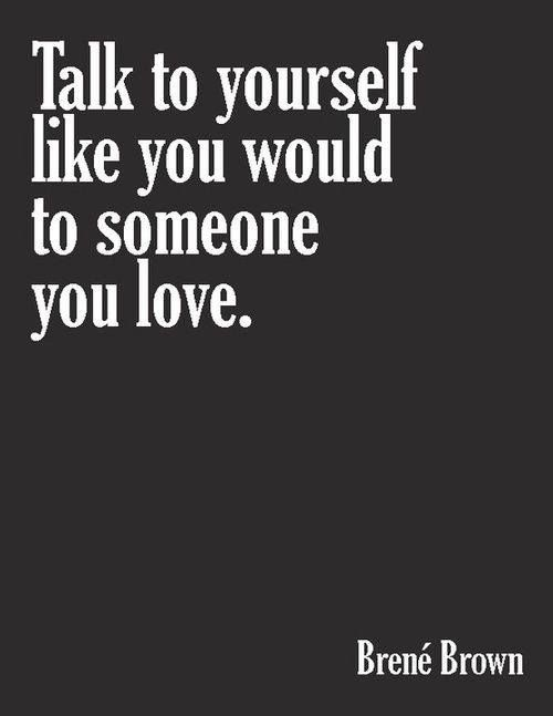 Always remember to. I have this painted on a jewelry box in front of my mirror.