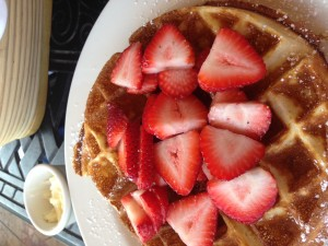 Yeah. I ate this waffle. Want to fight about it?