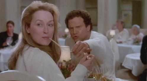 Meryl Streep demonstrates this phenomena