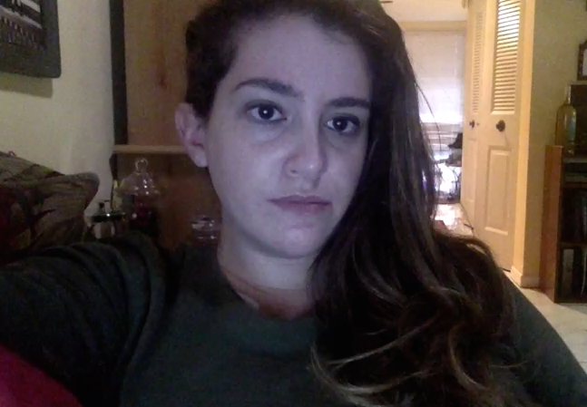 Trying to make a video the morning after a bad migraine--not the most flattering of takes.